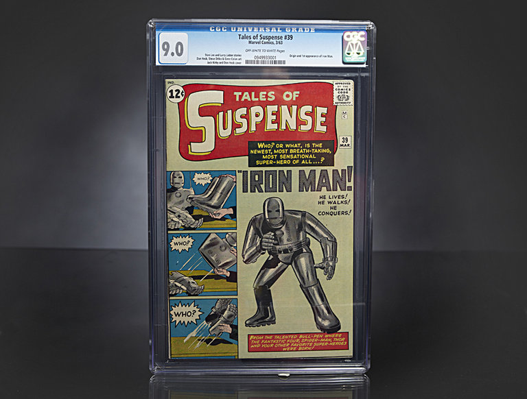 """Tales of Suspense #39"" Comic Book"