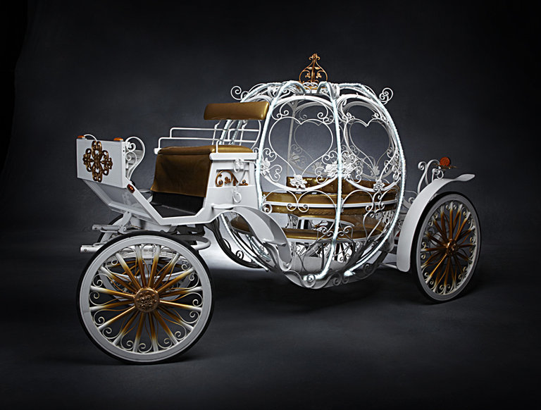 Horse-Drawn Cinderella Carriage