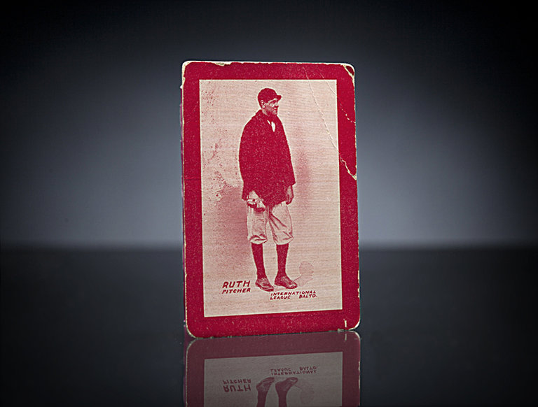 Baltimore News Babe Ruth Rookie Card