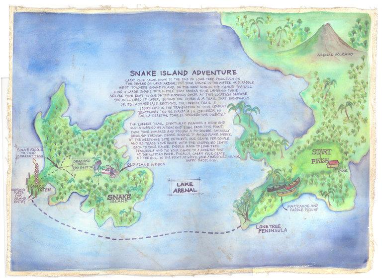 Snake Island Adventure