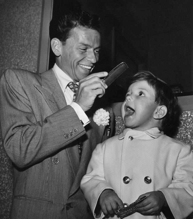 Sinatra Sr And Jr