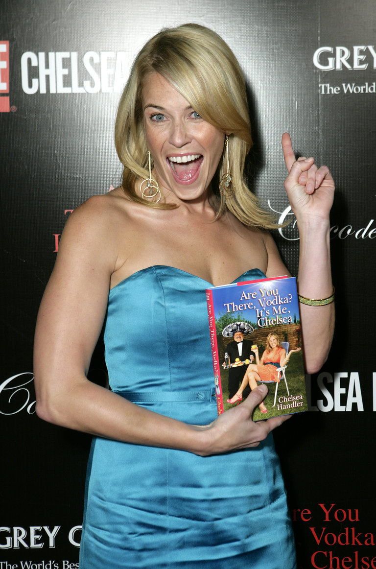 "Chelsea Handler's Book Party - ""Are You There, Vodka? It's Me Chelsea"""