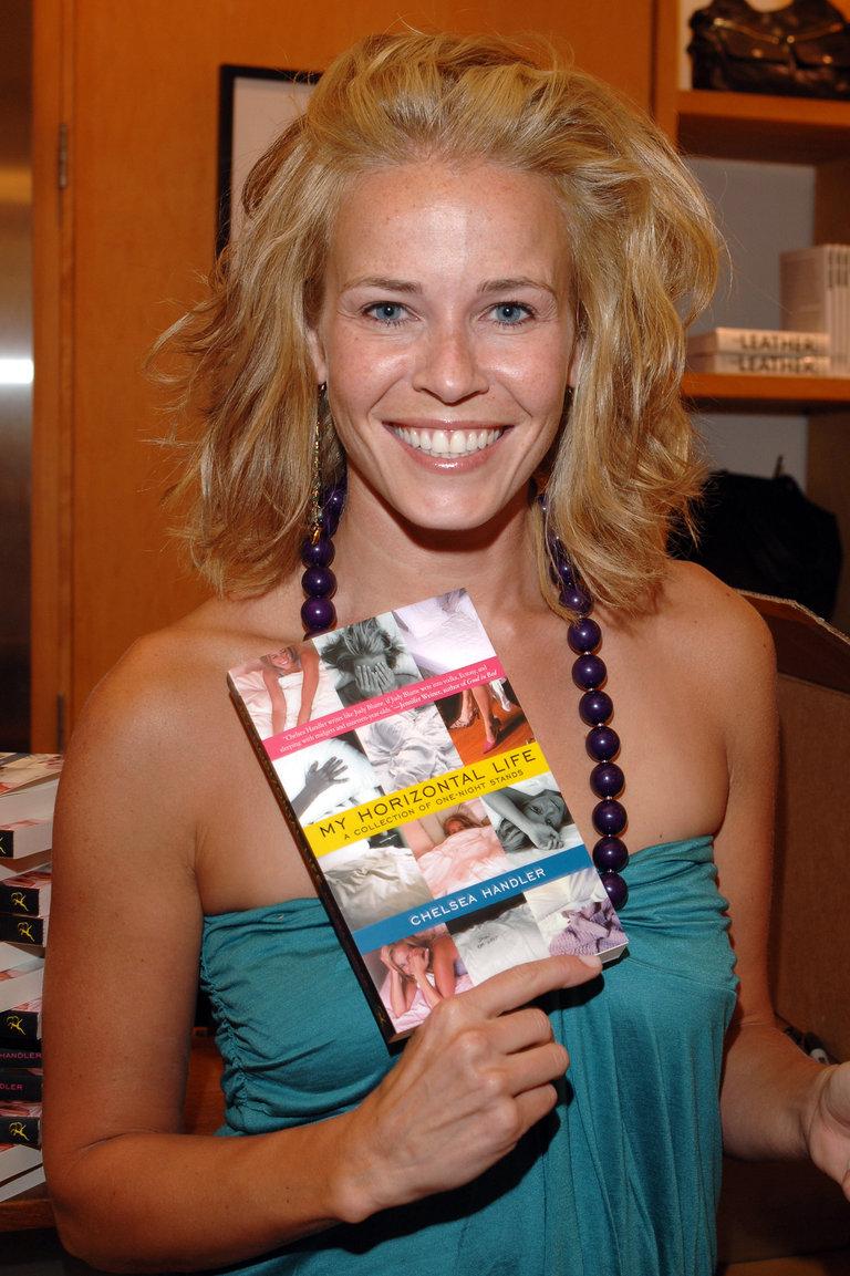 "Club Monaco Hosts Chelsea Handler Book Signing for ""My Horizontal Life"""