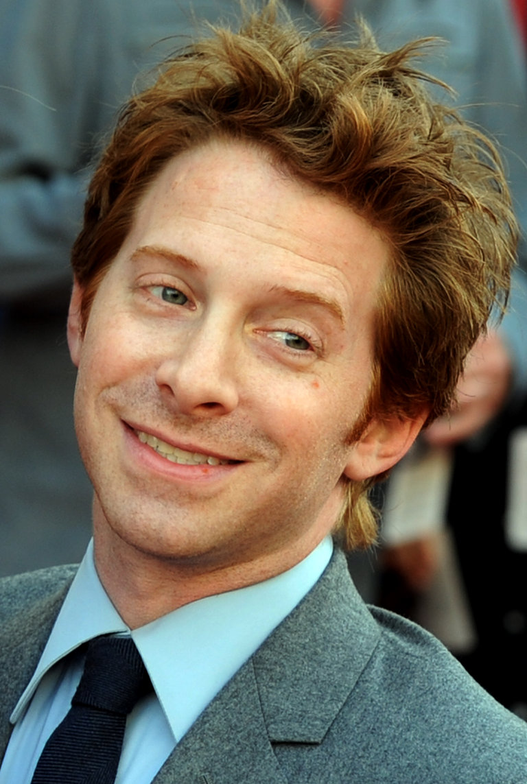 Actor Seth Green arrives on the red carp