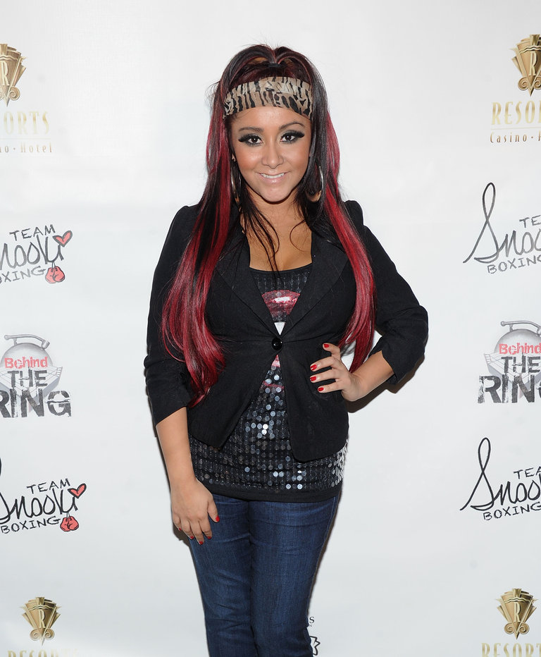 Team Snooki Boxing Press Conference