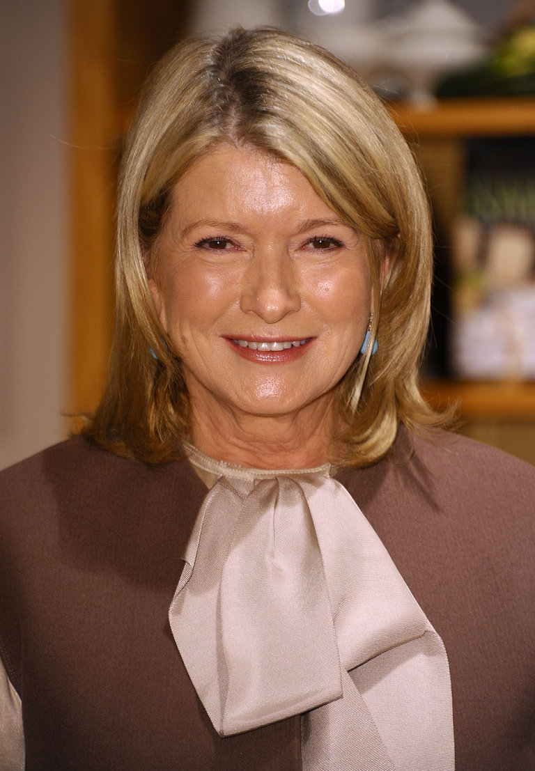 "Martha Stewart Signs Copies Of Her New Book ""Martha's Entertaining: A Year Of Celebrations"""