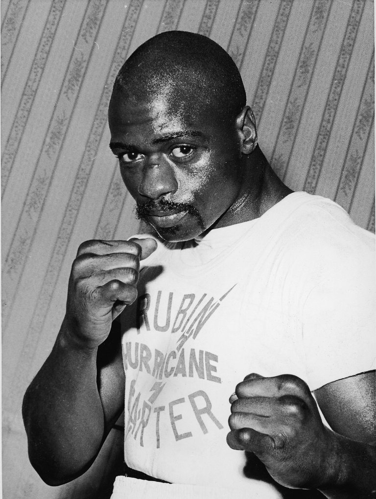 Portrait Of Rubin 'Hurricane' Carter