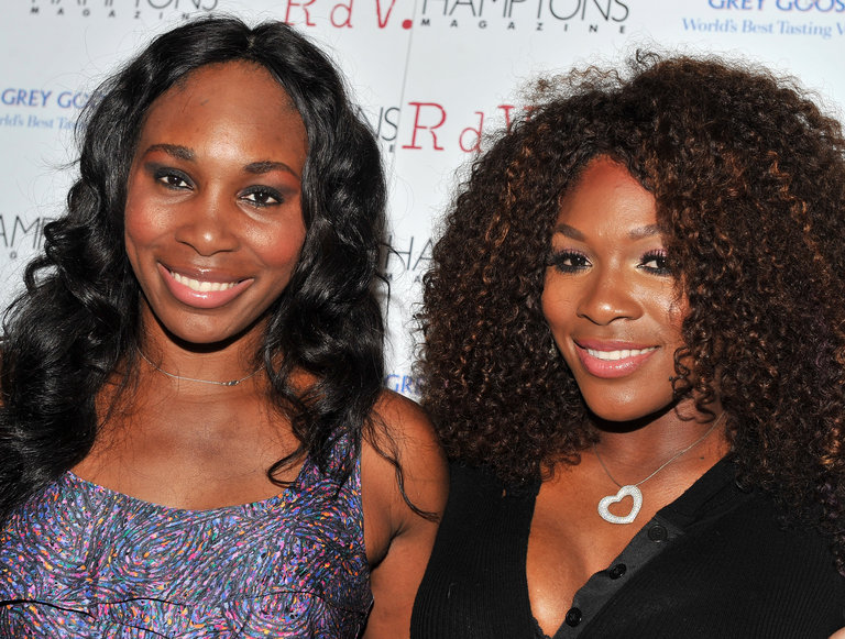 Venus And Serena Williams Celebrate Hamptons Magazine Cover