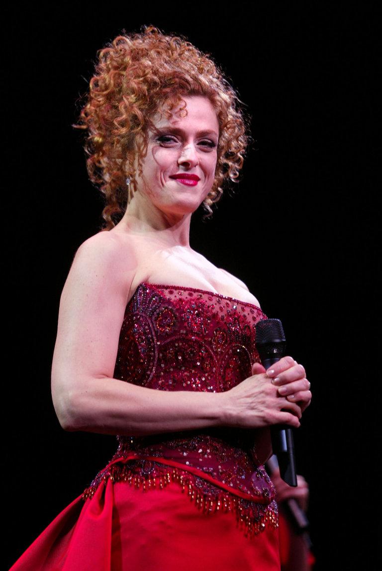 Bernadette Peters at Radio City Music Hall