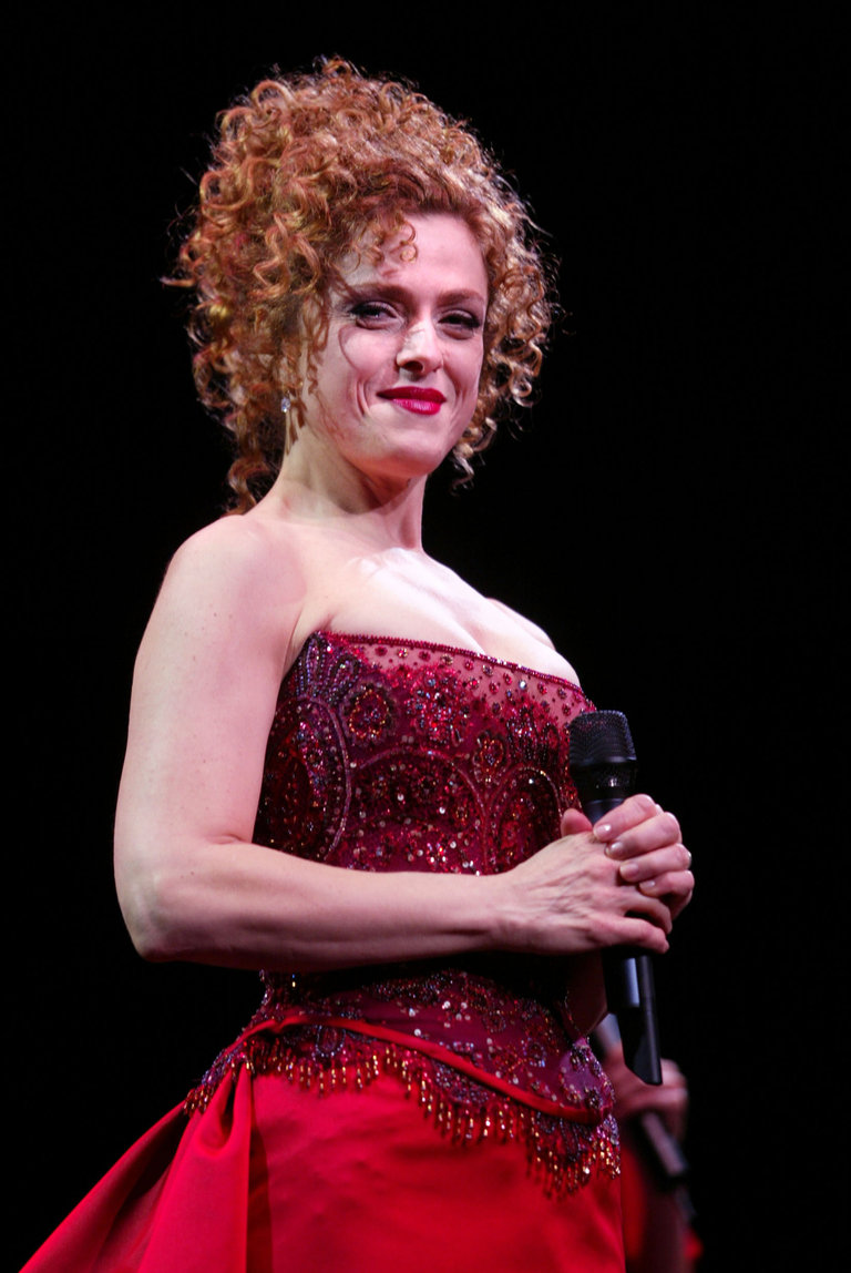 Bernadette Peters at Radio City Music Hall