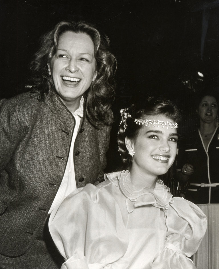 Brooke Shields at Wella Luncheon - May 6, 1981