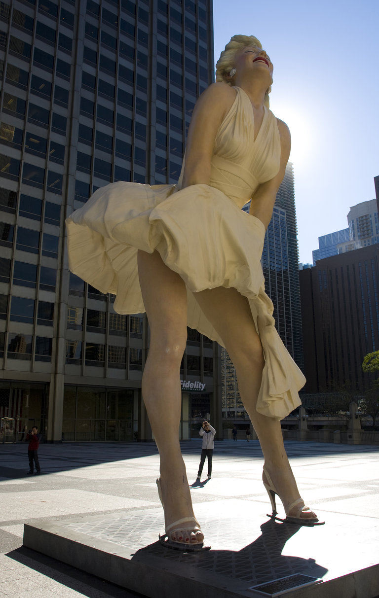 Chicago Loves Marilyn Monroe