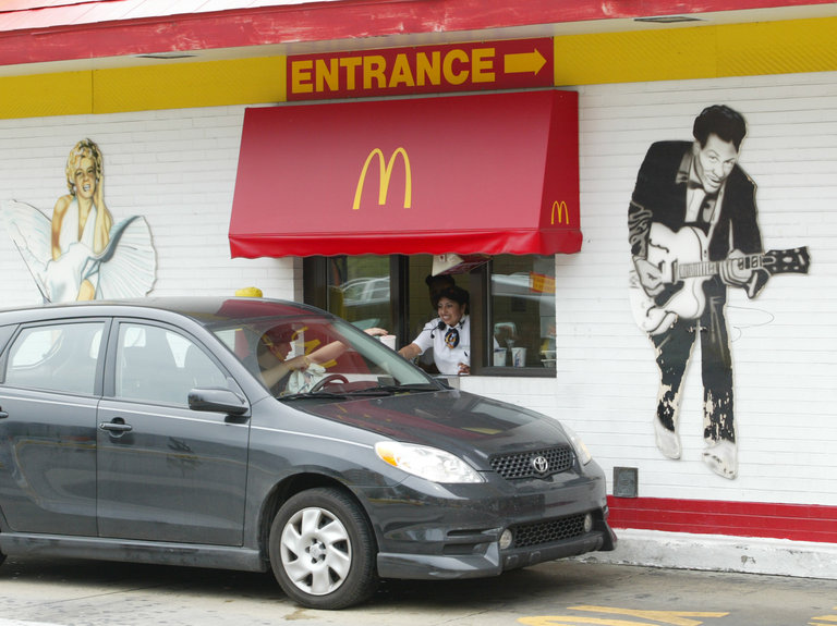 Rock 'N' Roll McDonald's Prepares To Close