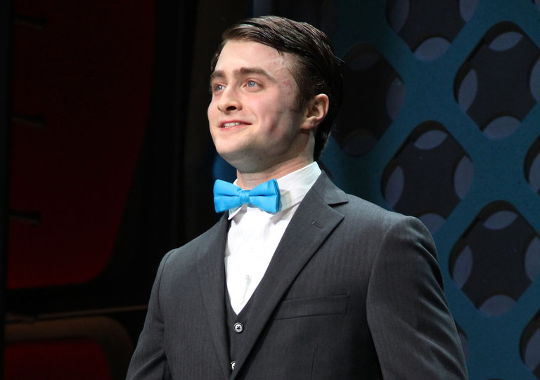 """""""How To Succeed In Business Without Really Trying"""" Broadway Opening Night - Arrivals & Curtain Call"""