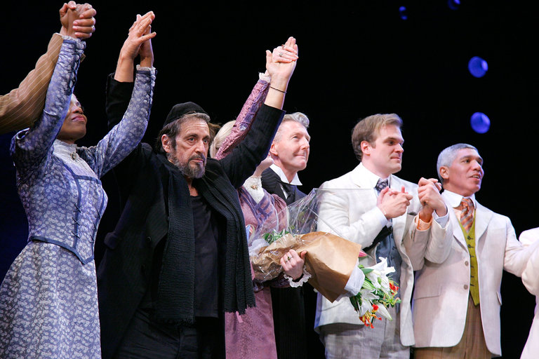 """""""The Merchant of Venice"""" Broadway Opening Celebration - Arrivals & Curtain Call"""
