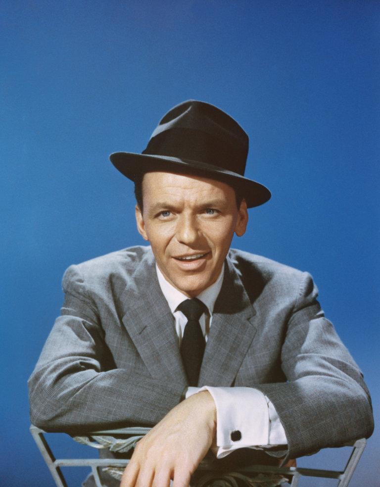 Late 1950s, Los Angeles, Frank Sinatra