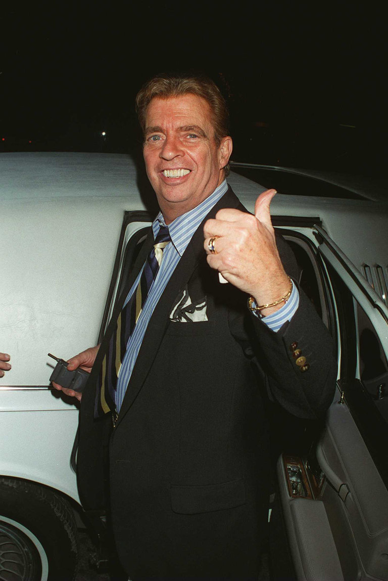 Morton Downey Jr At Drais Restaurant