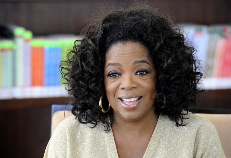 US talk show queen Oprah Winfrey answers