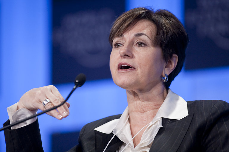 The Third Day Of The World Economic Forum In Davos