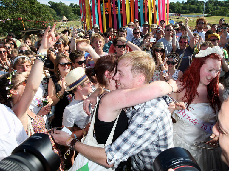 Glastonbury Music Festival: 40th Anniversary - Day 1