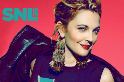 Drew Barrymore Bumper Photo