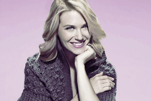 January Jones Photo Bumper