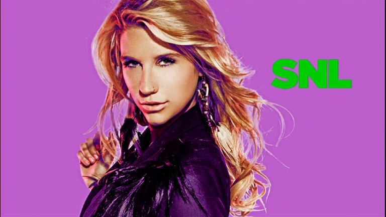 Ke$ha Bumper Photo