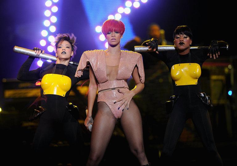 Rihanna And Ke$ha In Concert - August 12, 2010