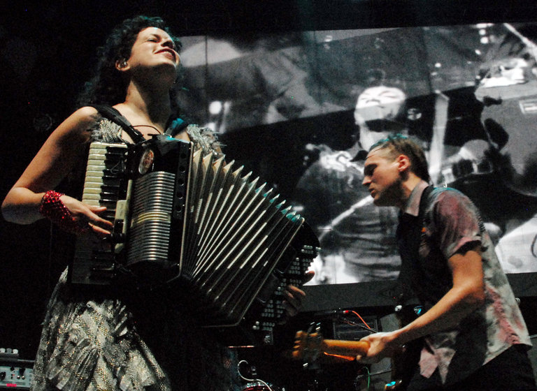 Arcade Fire & Spoon In Concert - August 11, 2010