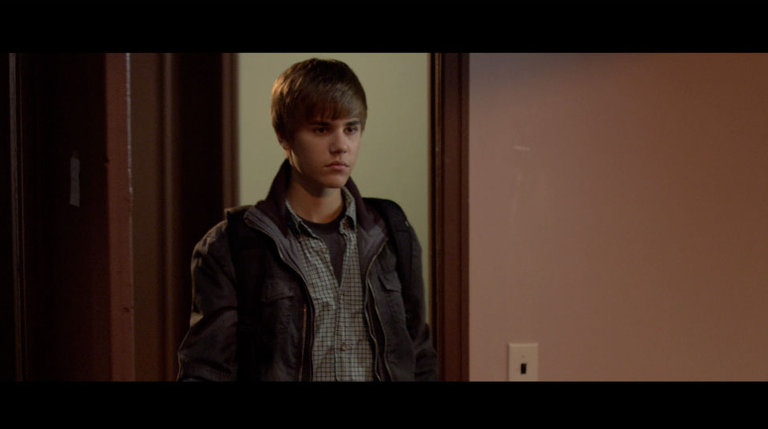 Justin Bieber in 'The Roommate.'