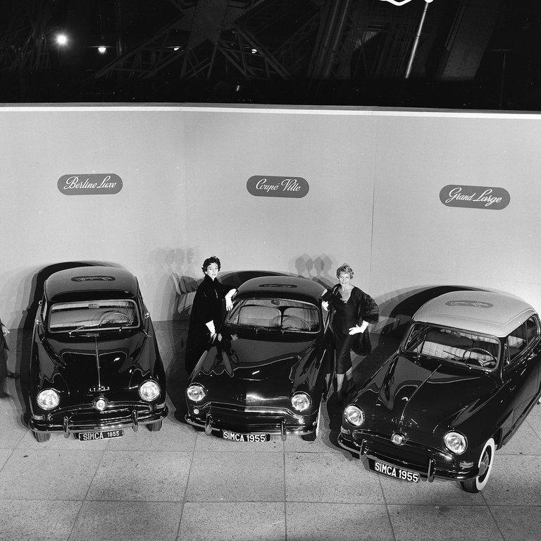1955 Simca 90A Aronde
