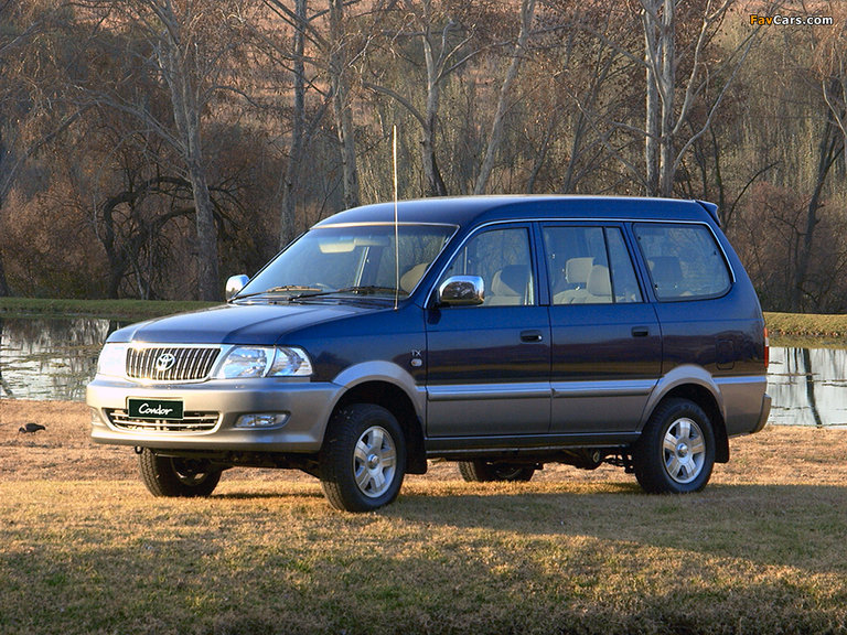 2003 Toyota Condor 2400i TX