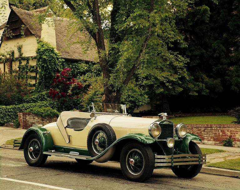 1929 Kissel White Eagle Series 126