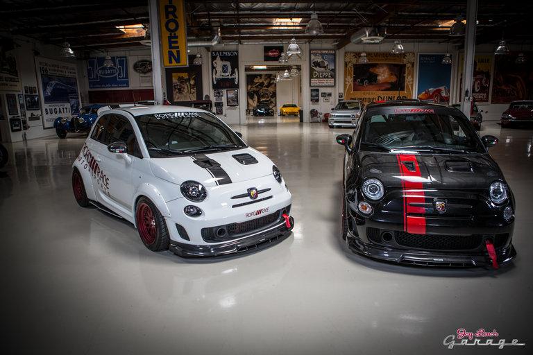 Jay leno 39 s garage custom fiat abarth photo 1044791 for Garage fiat coignieres 78