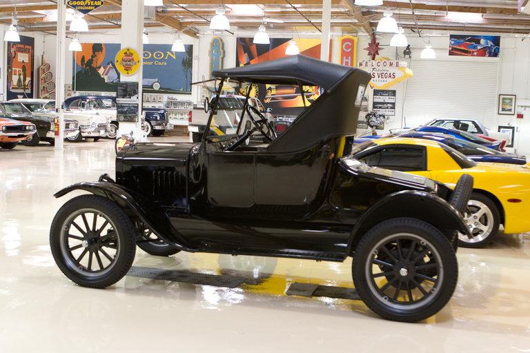 jay leno 39 s garage ford model t roadster 1925 photo 321321. Black Bedroom Furniture Sets. Home Design Ideas