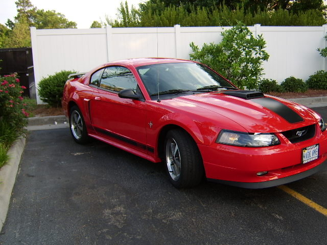 2003 - Ford, Mustang Mach 1