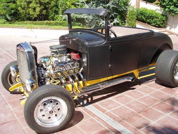 1930 - Ford, Model A Hiboy