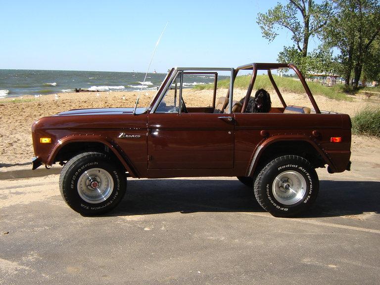 1975 - ford, bronco/ ranger