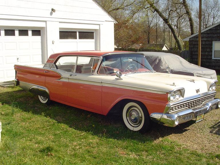 1959 - Ford, Galaxy Fairlane 500