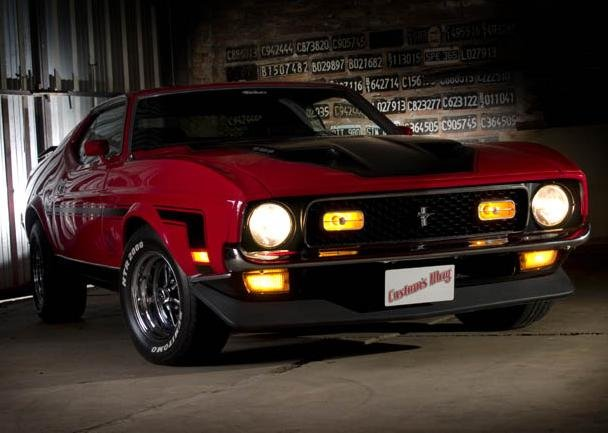 1971 - Ford, Mustang Mach 1 V8  351C  2v