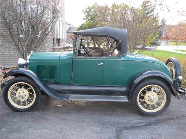 1929 - Ford, Roadster