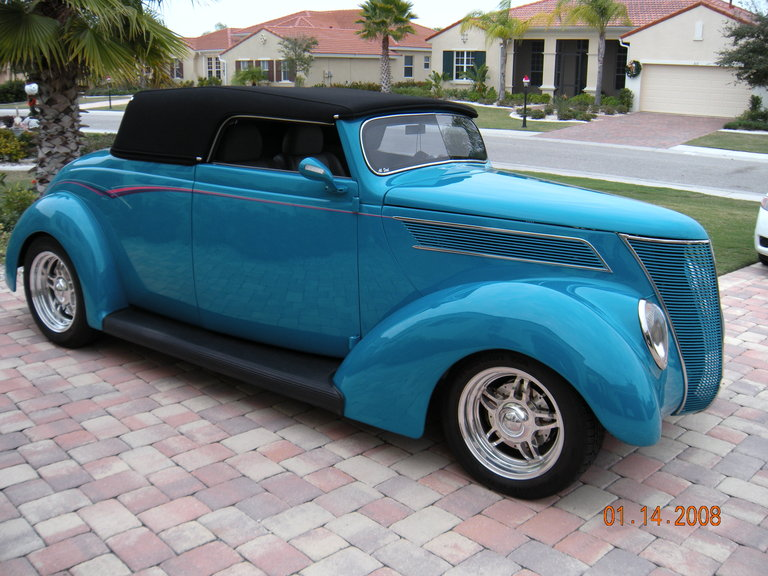 1937 - Ford, Cabriolet