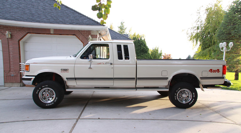 1990 - Ford, F-250 Super Cab Extended Bed