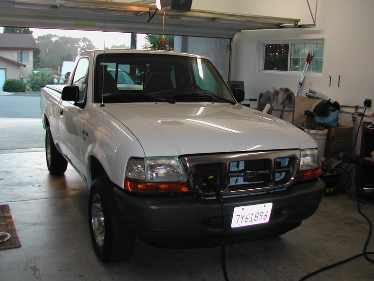 2001 - Ford Ranger, Electric Vehicle (EV)