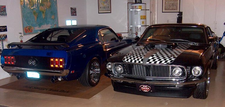 1969 - Ford Mustangs, Mach 1s