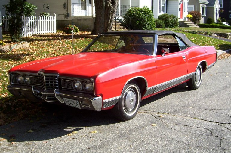 1972 - Ford LTD, Convertable
