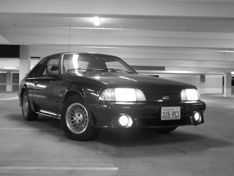 1989 - Ford, Mustang GT Hatchback