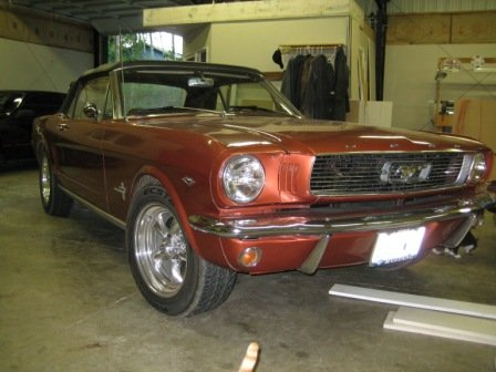 1966 - Ford, Mustang convertible