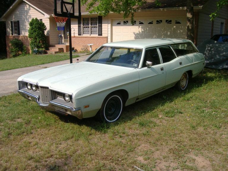 1971 - Ford, Ranch Custom Wagon