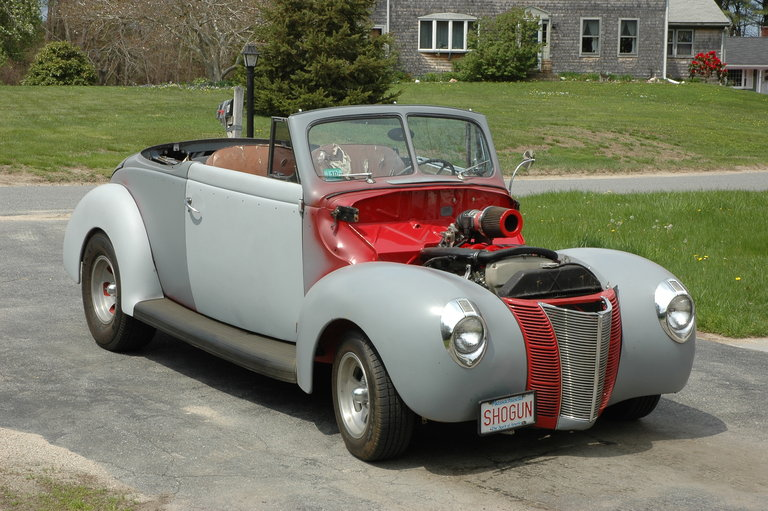 1940 - ford, convertable coupe